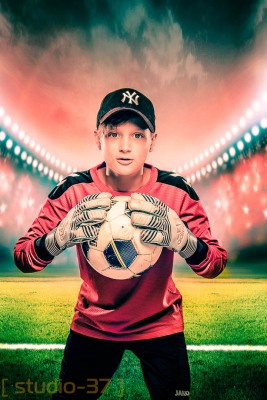 Lifestyle Portret Voetbal